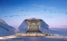 Harbin Opera House by MAD Architects (David Anderson, TILTPIXEL)
